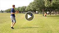 video thumbnail showing parent and child playing catch