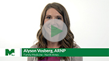 Alyson Vosberg bio video thumbnail