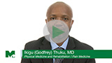 Dr. Ikigu (Godfrey) Thuku Bio Video