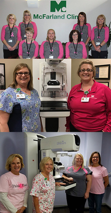 Mammography Teams